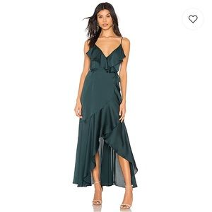 New! Shona Joy Luxe Bias Wrap Dress